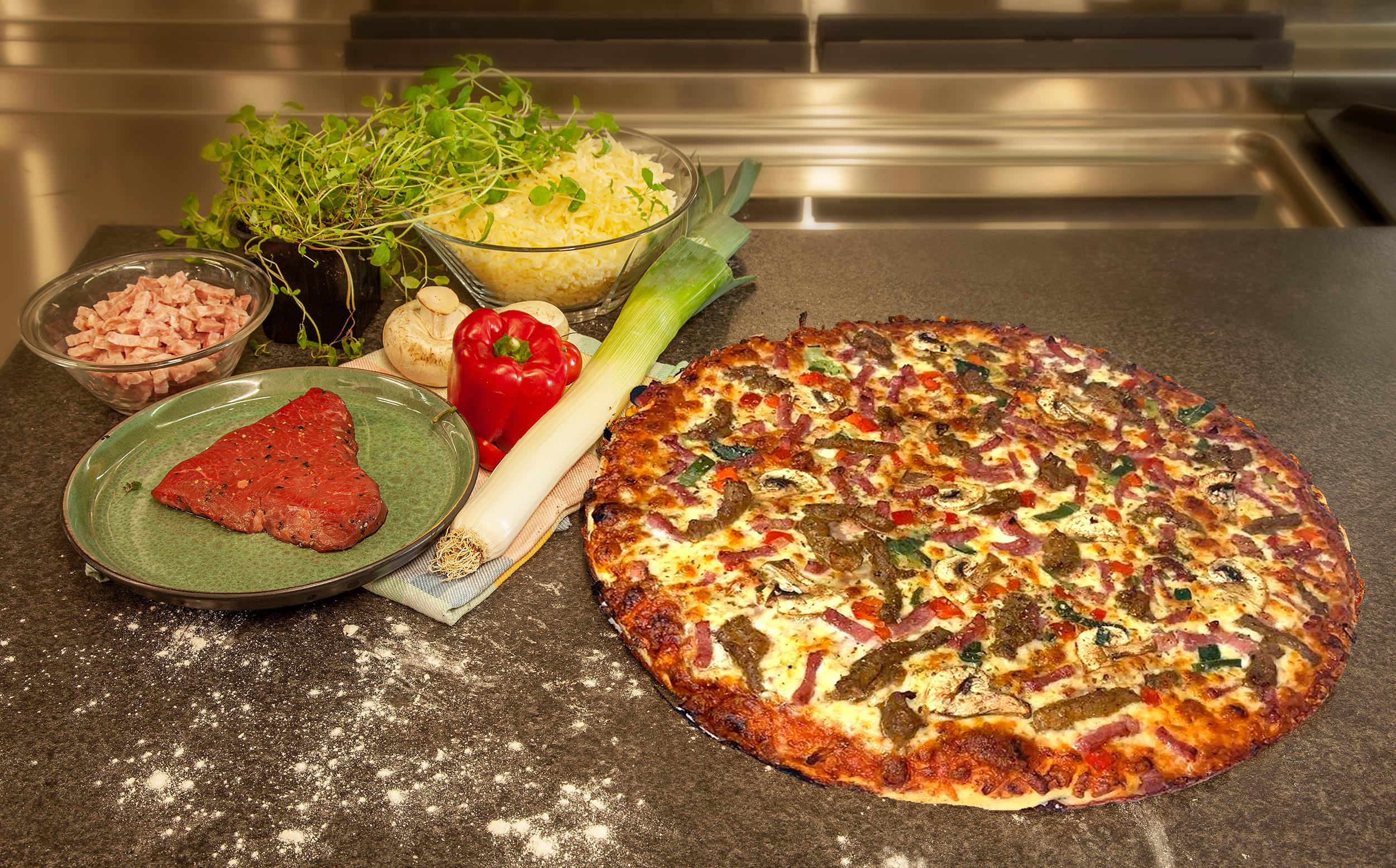 5. Pizza á la Burre